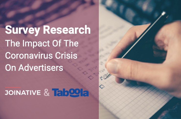 A survey on the impact of the coronavirus crisis on advertisers