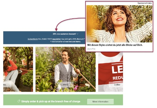 Lead generation campaign for eCommerce