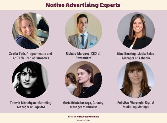 Native advertising experts