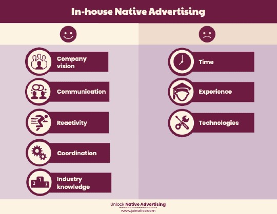 The pros and cons of doing native advertising in-house