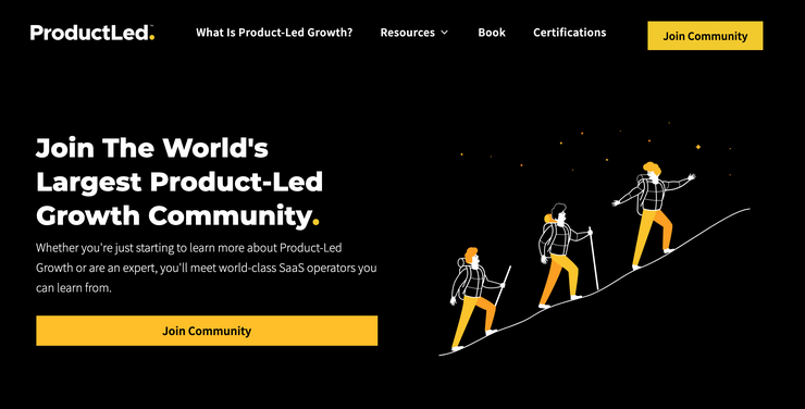 Product-Led community