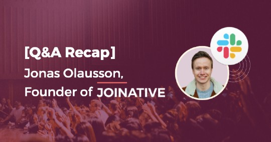 Native advertising Q&A with Jonas OLausson