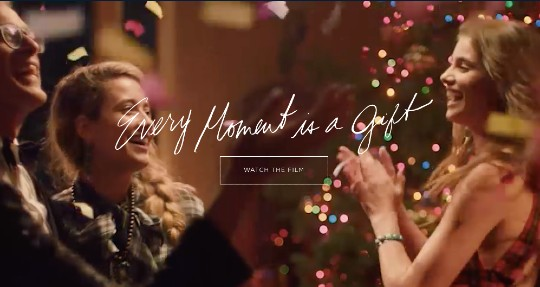 Ralph Lauren holiday marketing campaign example
