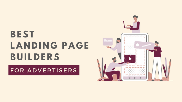 Top 9 Landing page builders for advertising specialists