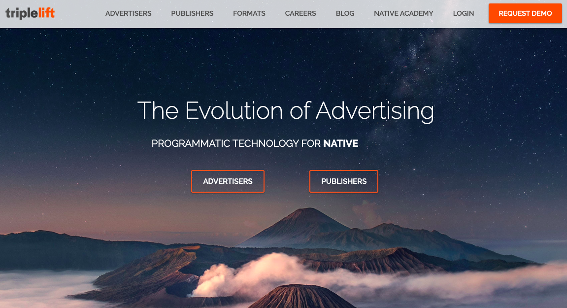 Native advertising with TripleLift