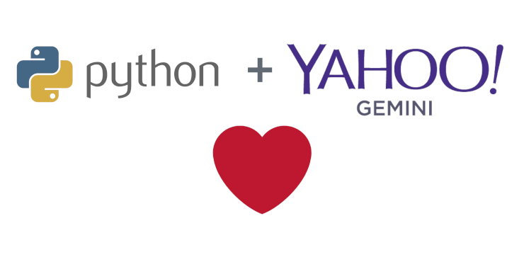 Example for the Oauth Authentication for Yahoo Gemini